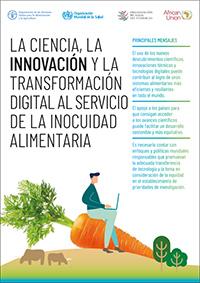 La ciencia, la innovación y la transformación digital al servicio de la inocuidad alimentaria