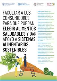 Facultar a los consumidores para que puedan elegir alimentos saludables y dar apoyo a sistemas alimentarios sostenibles