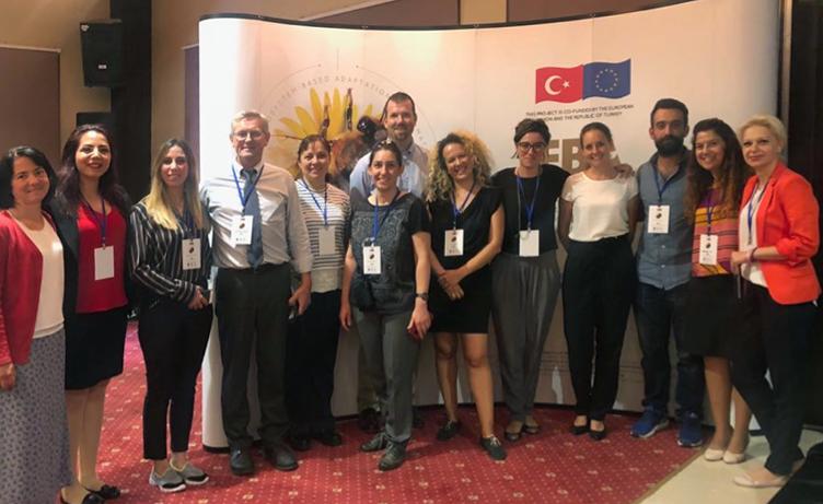 Ankara, July - International and National project experts at workshop