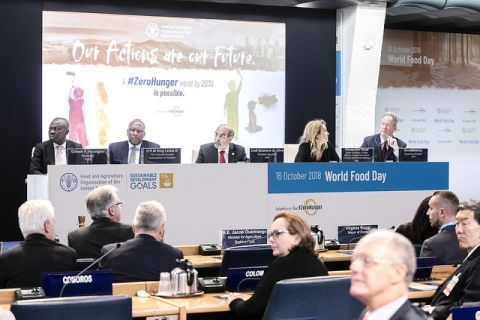 World Food Day Ceremony 2018 and High-Level Panel