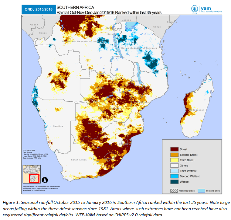 Fao news article el nio set to have a devastating impact on seasonal rainfall october 2015 to january 2016 in southern africa ranked within the last 35 years wfp vam gumiabroncs Choice Image