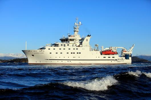 Noruega y la FAO presentan un buque oceanográfico de vanguardia