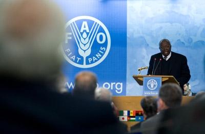Jacques Diouf, diretor-geral da FAO