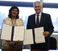 FAO and Boulder Institute of Microfinance sign MoU to promote rural financing to improve food security