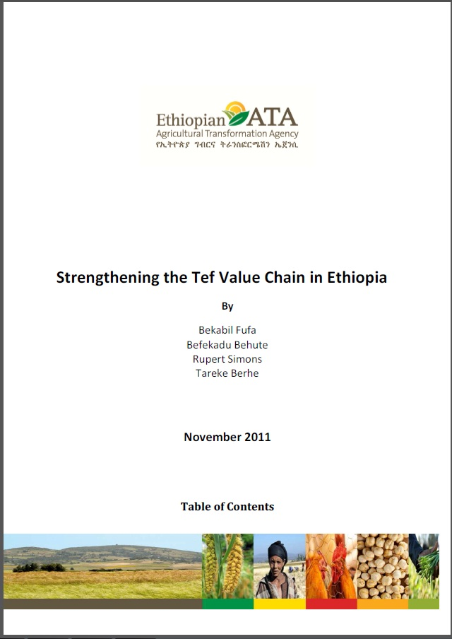 Strengthening the Tef Value Chain in Ethiopia