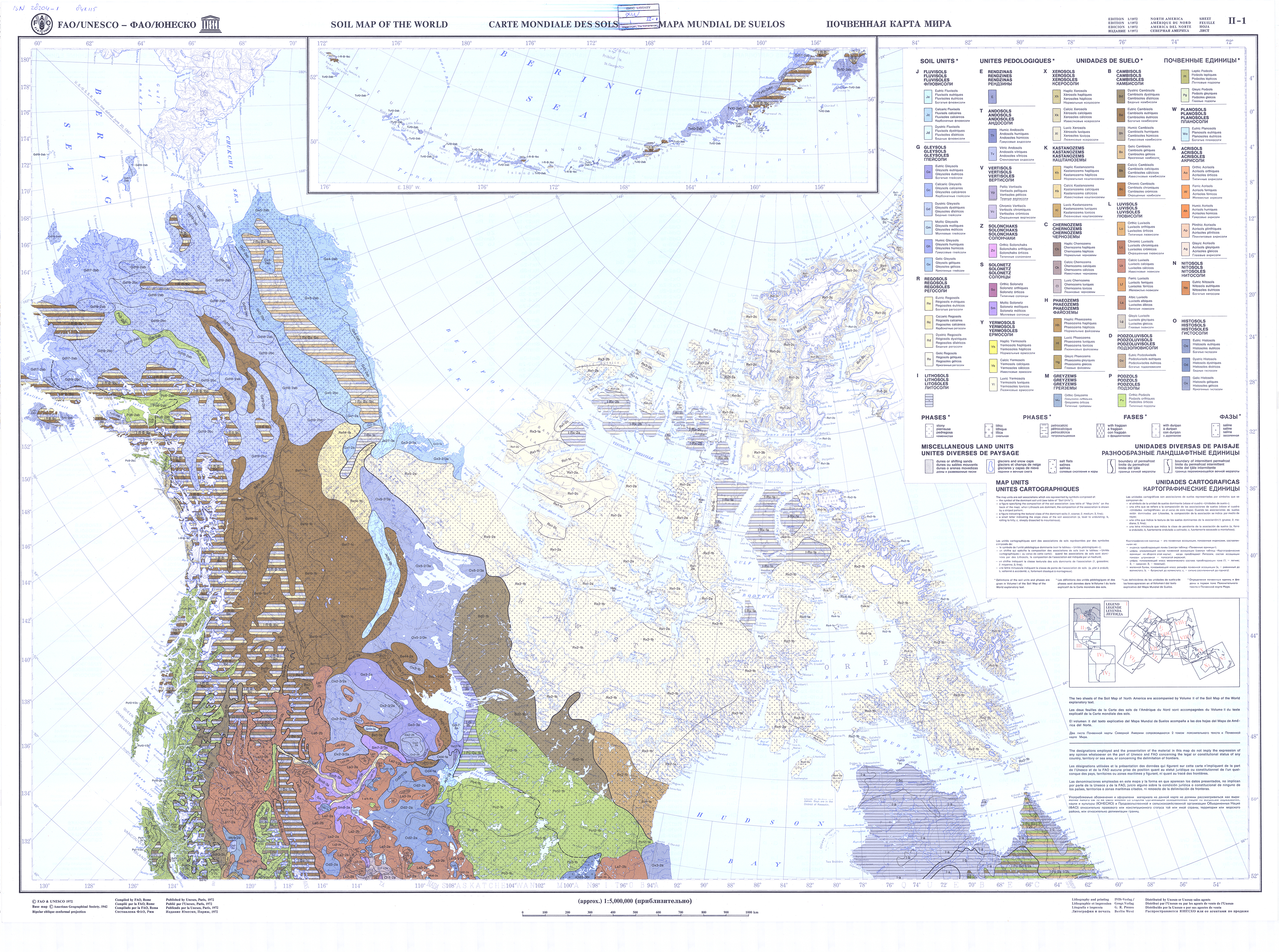 Faounesco soil map of the world fao soils portal food and map 1 gumiabroncs Gallery