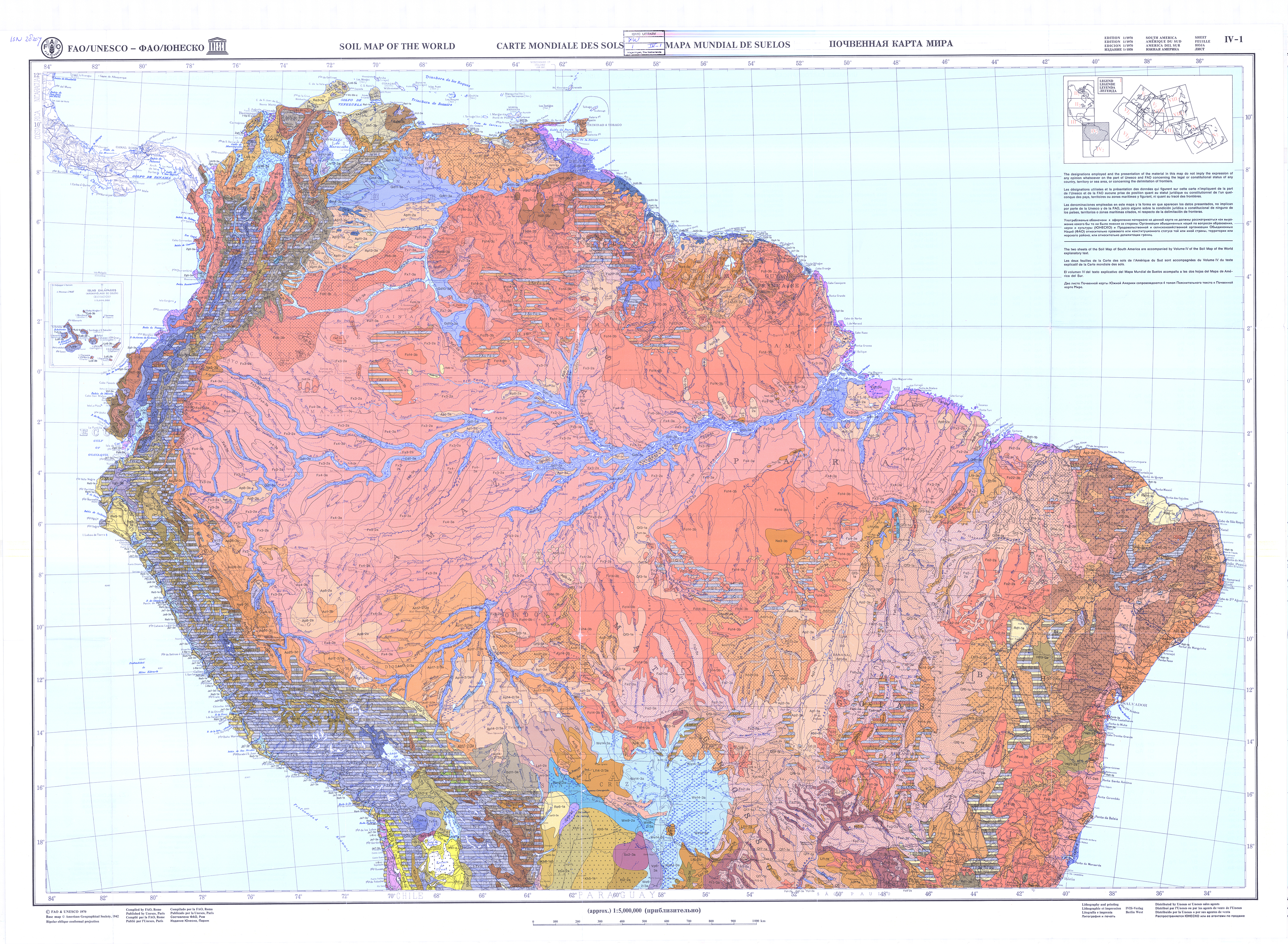 Faounesco soil map of the world fao soils portal food and map 1 sciox Gallery