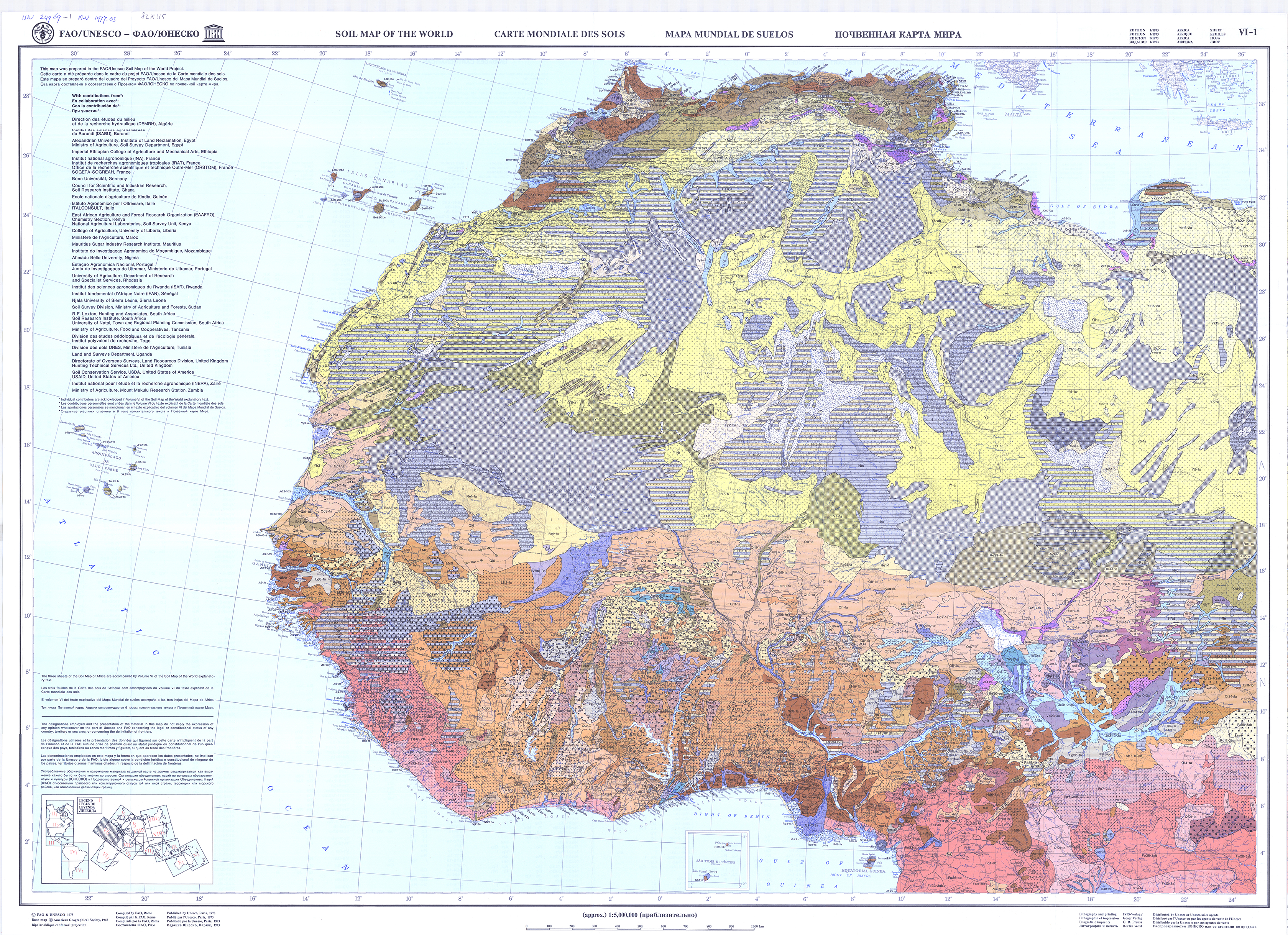 Faounesco soil map of the world fao soils portal food and map 1 gumiabroncs Images