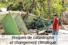 Risques de catastrophe et changement climatique dans le secteur de la pêche artisanale