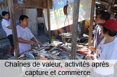Chaînes de valeur, activités après capture et commerce dans le secteur de la pêche artisanale