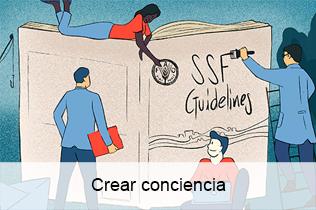 Crear conciencia