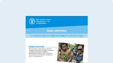 Data collection: Real-time data platform (Fiji, Palau, Papua New Guinea, Tonga)
