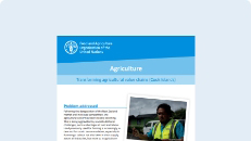 Agriculture: Transforming agricultural value chains (Cook Islands)