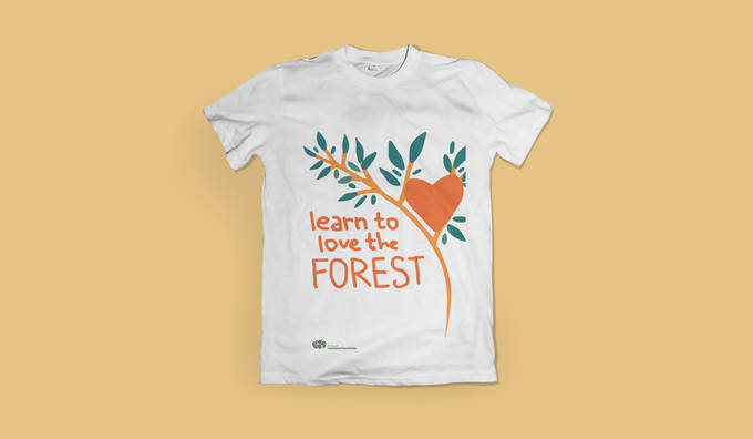T-shirt design | International Day of Forests | Food and Agriculture