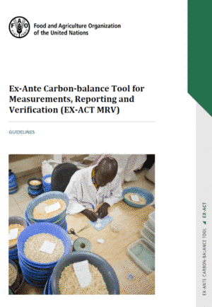 EX-ACT: MRV-GHG Guidelines