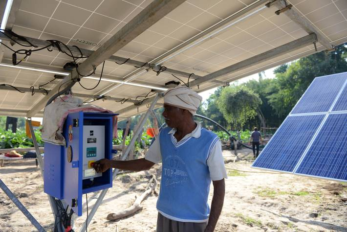 FAO - News Article: Positive prospects for solar-powered