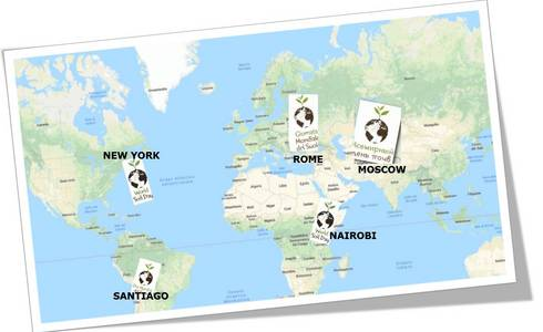Worldwide Events World Soil Day December Th Food And - Official world map