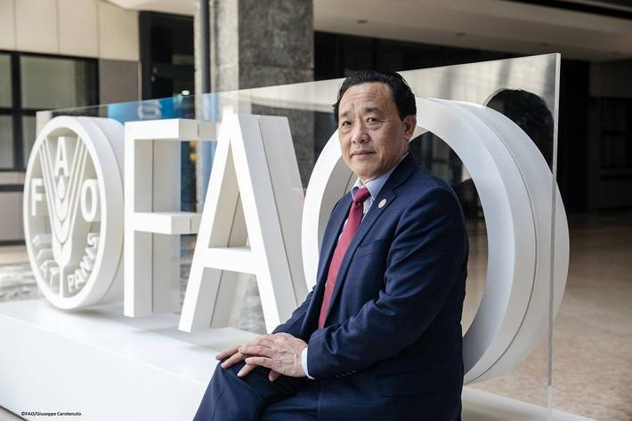 FAO - Noticias: Qu Dongyu asume el mando de la FAO