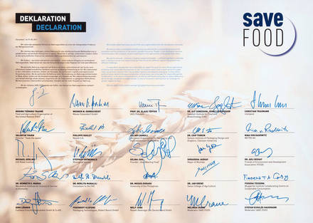 SAVE FOOD-declaration