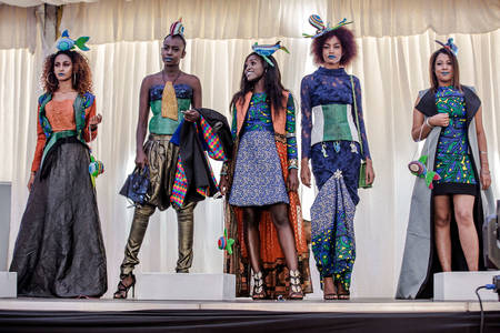Fish Skin Leather On The Catwalks Of Nairobi Could Milan And New York Be Next Blue Growth Blog Food And Agriculture Organization Of The United Nations