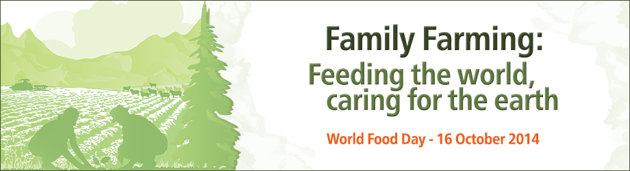 World Food Day, 16 October 2014