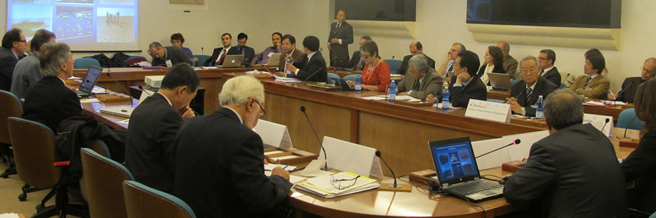 Scientific and Steering Committee Meeting, 29-30 October 2012, FAO headquarters, Rome, Italy © FAO/Natalia Acosta.