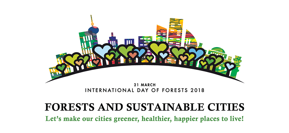 logo banners international day of forests 2018 food and