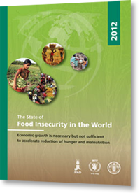 """Cover image for """"The State of Food Insecurity in the World 2012"""""""
