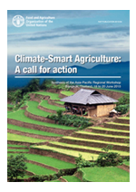 Climate-Smart Agriculture: A call for action