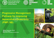 Progressive management pathway for improving aquaculture biosecurity